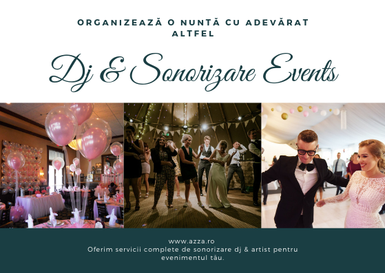 Evenimente by AzZa - Sonorizare si Dj Profesionist