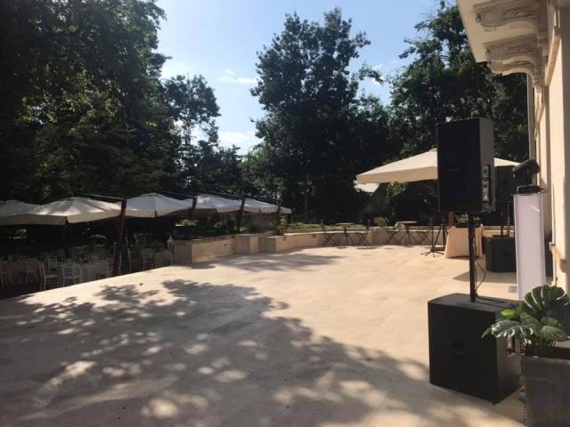 Dj Evenimente Conacul Manasia, Nunta in aer liber