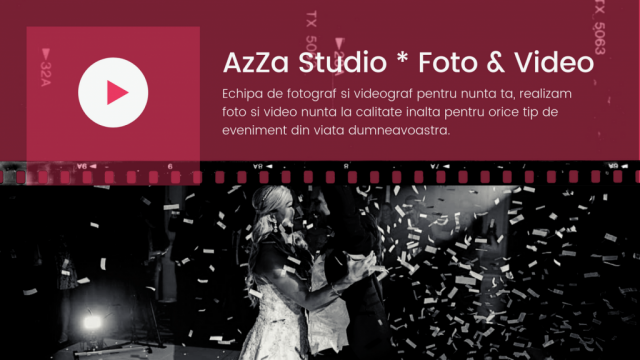 Fotograf si videograf pentru nunta, botez  by AzZa Studio