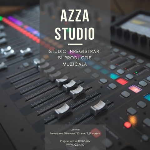 AzZa Studio - Studio Inregistrari Bucuresti, Productie Muzicala, Inregistrari Cover-uri