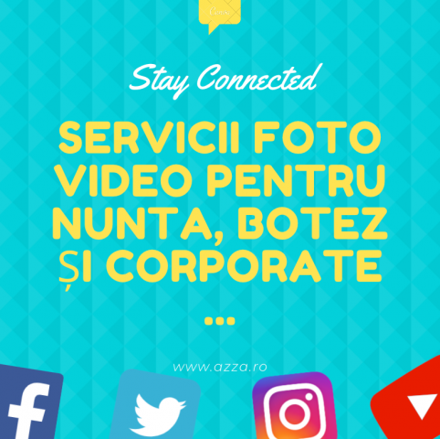 Servicii foto si video pentru botez, nunta sau corporate.
