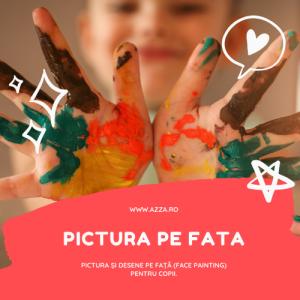 Pictura pe fata pentru copii Bucuresti